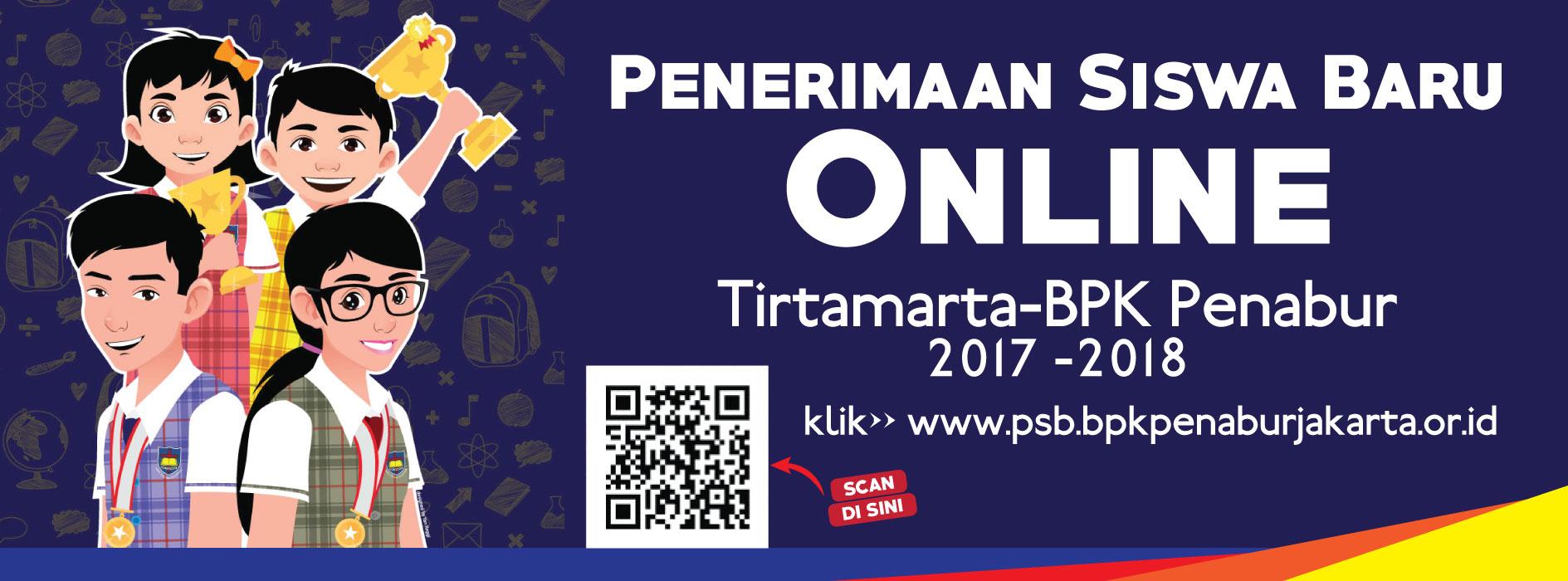 PENERIMAAN SISWA BARU ONLINE SEKOLAH TIRTAMARTA BPK PENABUR 2017 2018