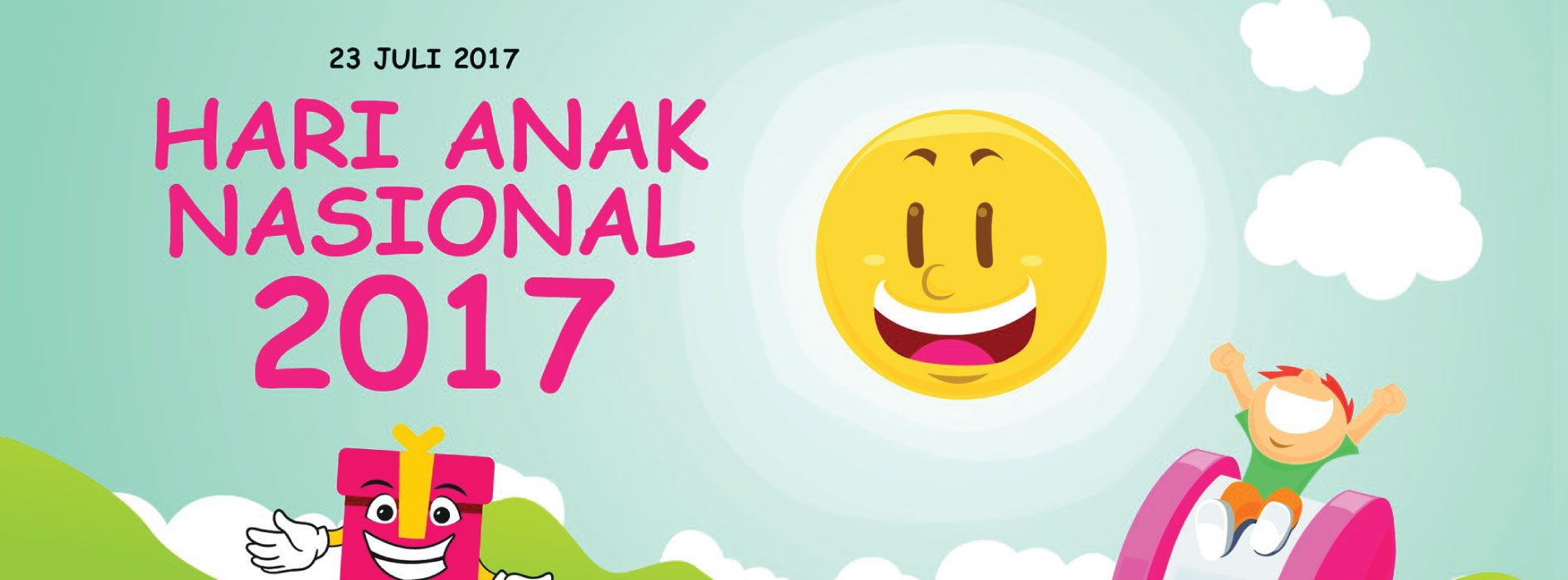 Selamat Hari Anak Nasional 2017 Sekolah Tirtamarta-BPK Penabur Pondok Indah Cinere Jakarta Depok