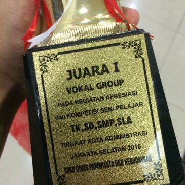Juara I Grup Vokal