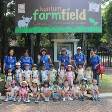 PLAYGROUP Goes To Kuntum Farm Field Bogor