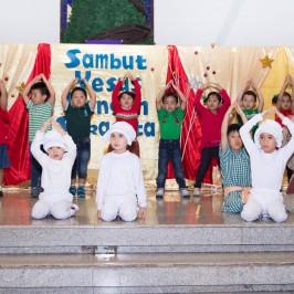 SAMBUT YESUS dengan SUKACITA