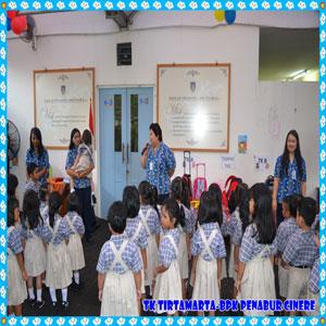 Hari Pertama Sekolah TKK Cinere