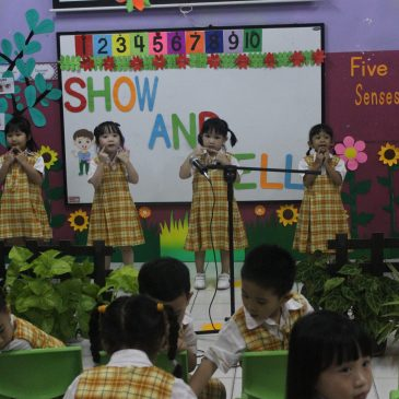 """SHOW & TELL OF TK A """"Thank You God for My 5 Senses"""""""